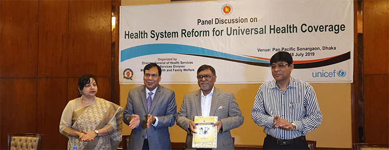 Unveiling ceremony of five Quality Improvement guideline, manuals and books, July 2019